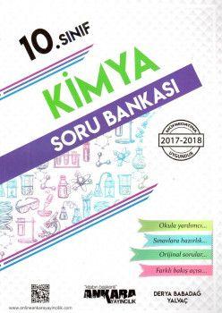Ankara Yayıncılık 10. Sınıf Kimya Soru Bankası