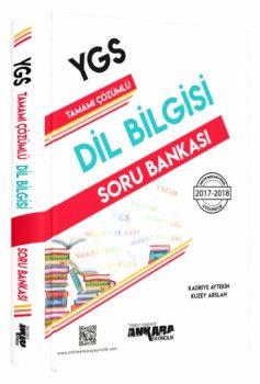 Ankara Yayıncılık YGS Dil Bilgisi Tamamı Çözümlü Soru Bankası