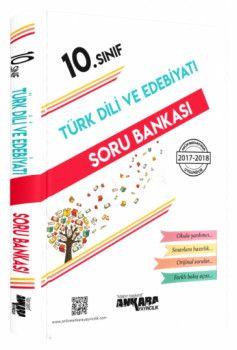 Ankara Yayıncılık 10. Sınıf Türk Dili ve Edebiyatı Soru Bankası