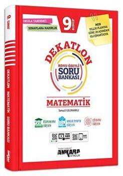 Ankara Yayıncılık 9. Sınıf Matematik Dekatlon Soru Bankası
