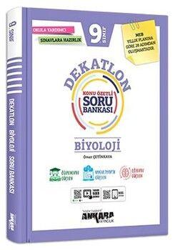 Ankara Yayıncılık 9. Sınıf Biyoloji Dekatlon Soru Bankası