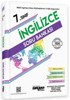 Ankara Yayıncılık 7. Sınıf İngilizce Soru Bankası