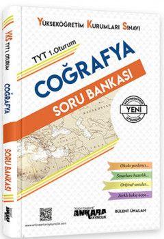 Ankara Yayıncılık YKS 1. Oturum TYT Coğrafya Soru Bankası