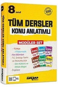 Ankara Yayıncılık 8. Sınıf LGS Tüm Dersler Konu Anlatımlı Modüler Set
