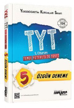 Ankara Yayıncılık YKS 1. Oturum TYT 5 Özgün Deneme