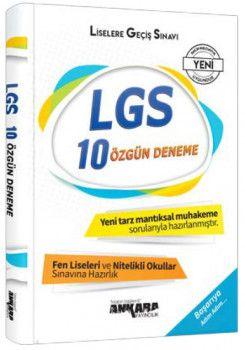 Ankara Yayıncılık 8. Sınıf LGS Özgün 10 Deneme