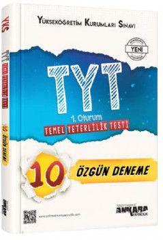 Ankara Yayıncılık YKS 1. Oturum TYT 10 Özgün Deneme