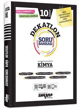 Ankara Yayıncılık 10. Sınıf Kimya Dekatlon Soru Bankası