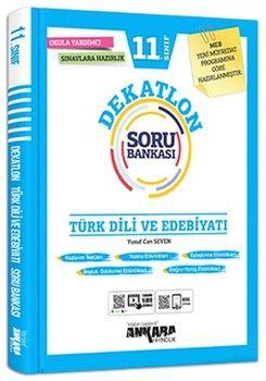 Ankara Yayıncılık 11. Sınıf Türk Dili ve Edebiyatı Dekatlon Soru Bankası
