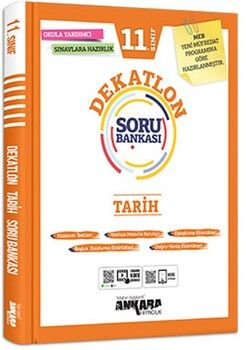 Ankara Yayıncılık 11. Sınıf Tarih Dekatlon Soru Bankası