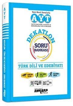 Ankara Yayıncılık AYT Türk Dili ve Edebiyatı Dekatlon Soru Bankası