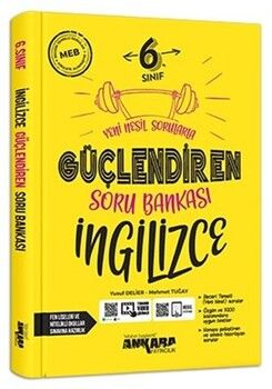 Ankara Yayıncılık 6. Sınıf İngilizce Güçlendiren Soru Bankası