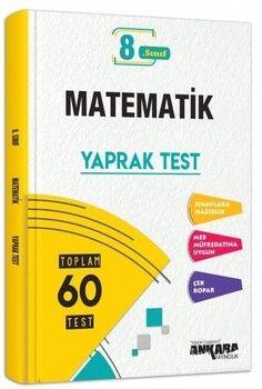 Ankara Yayıncılık 8. Sınıf LGS Matematik Yaprak Testi