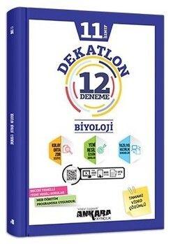 Ankara Yayıncılık 11. Sınıf Biyoloji Dekatlon 12 Deneme