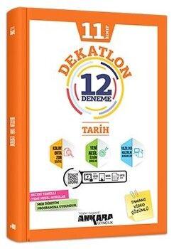 Ankara Yayıncılık 11. Sınıf Tarih Dekatlon 12 Deneme