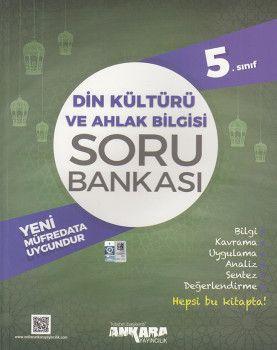Ankara Yayıncılık 5. Sınıf Din Kültürü ve Ahlak Bilgisi Soru Bankası