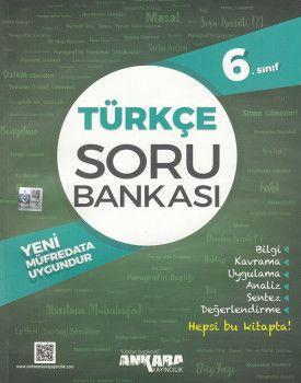Ankara Yayıncılık 6. Sınıf Türkçe Soru Bankası