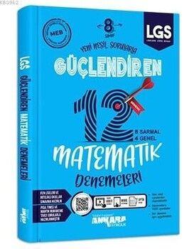 Ankara Yayıncılık 8. Sınıf Güçlendiren Matematik 12 Deneme