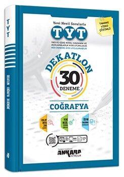 Ankara YayıncılıkTYT Coğrafya Dekatlon 30 Deneme