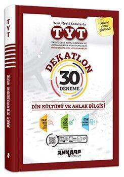 Ankara Yayıncılık TYT Din Kültürü ve Ahlak Bilgisi Dekatlon 30 Deneme