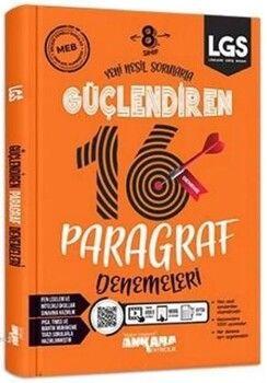 Ankara Yayıncılık 8. Sınıf LGS Paragraf Güçlendiren 16 Deneme