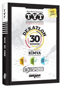 Ankara YayıncılıkTYT Kimya Dekatlon 30 Deneme