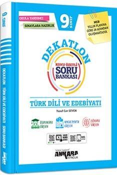 Ankara Yayıncılık9. Sınıf Türk Dili ve Edebiyatı Dekatlon Soru Bankası
