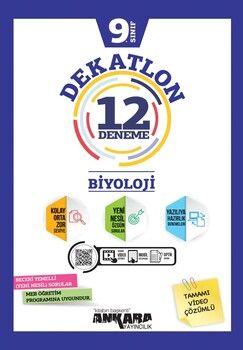 Ankara Yayıncılık 9. Sınıf Biyoloji Dekatlon 12 Denemeleri