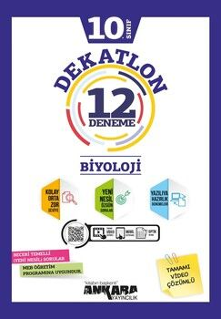 Ankara Yayıncılık 10. Sınıf Biyoloji Dekatlon 12 Denemeleri