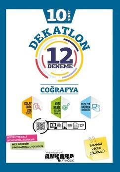 Ankara Yayıncılık 10. Sınıf Coğrafya Dekatlon 12 Denemeleri