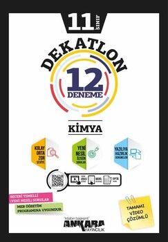 Ankara Yayıncılık 11. Sınıf Kimya Dekatlon 12 Denemeleri