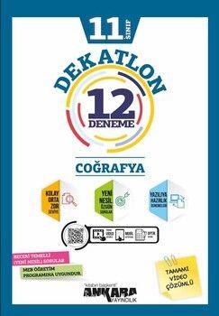 Ankara Yayıncılık 11. Sınıf Coğrafya Dekatlon 12 Denemeleri