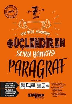 Ankara Yayıncılık 7. Sınıf Paragraf Güçlendiren Soru Bankası