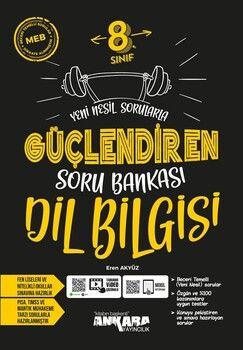 Ankara Yayıncılık 8. Sınıf Dil Bilgisi Güçlendiren Soru Bankası
