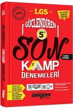 Ankara Yayıncılık 8. Sınıf LGS Güçlendiren 5 li Kamp Denemeleri