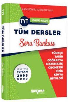 Ankara Yayıncılık TYT Tüm Dersler Soru Bankası