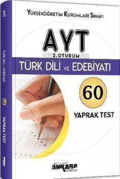 Ankara Yayıncılık AYT Türk Dili ve Edebiyatı 60 Yaprak Test