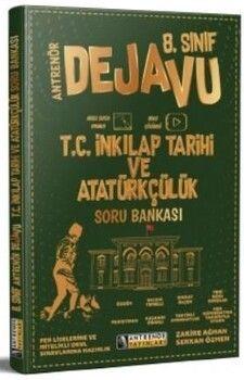 Antrenör Yayınları 8. Sınıf T.C İnkılap Tarihi ve Atatürkçülük Dejavu Soru Bankası