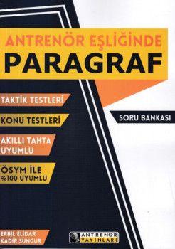 Antrenör Yayınları Antrenör Eşliğinde Paragraf Soru Bankası