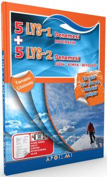 Apotemi LYS 1 LYS 2  Matematik Fizik Kimya Biyoloji 5+5 Denemesi Tamamı Çözümlü