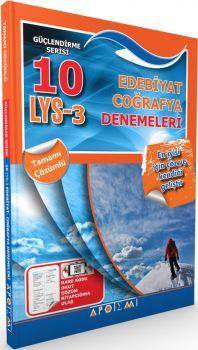 Apotemi LYS 3 Edebiyat Coğrafya Tamamı Çözümlü 10 Deneme
