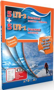 Apotemi LYS 3  LYS 1 Edebiyat Coğrafya Matematik 5+5 Denemesi Tamamı Çözümlü
