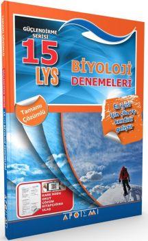 Apotemi LYS Biyoloji Tamamı Çözümlü 15 Deneme Sınavı