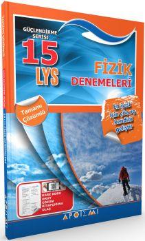 Apotemi LYS Fizik Tamamı Çözümlü 15 Deneme Sınavı