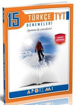 Apotemi TYT Türkçe Tamamı Çözümlü 15 li Denemeleri