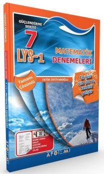 Apotemi Yayınları LYS 1 Matematik Tamamı Çözümlü 7 Deneme