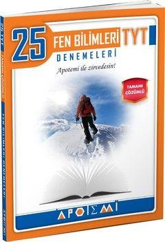 Apotemi Yayınları TYT Fen Bilimleri 25 li Denemeleri