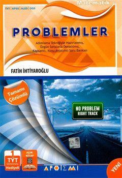 Apotemi Yayınları Matematik Problemler Tamamı Çözümlü TYT 1.Oturum Deneme Hediyeli