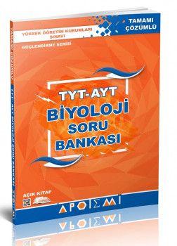 Apotemi Yayınları TYT AYT Biyoloji Tamamı Çözümlü Soru Bankası