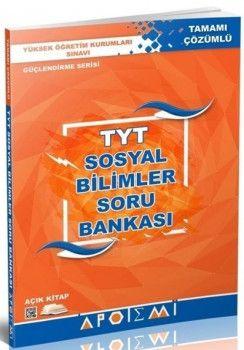 Apotemi YKS 1. Oturum TYT Sosyal Bilimler Tamamı Çözümlü Soru Bankası